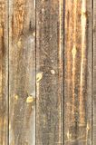 Painted wooden boards with nails Stock Photos