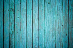 Painted wooden fence Stock Image