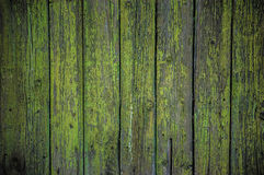 Painted wooden fence background Stock Image
