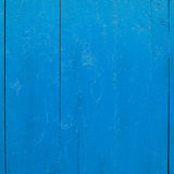 Painted wooden fence fragment Stock Photos