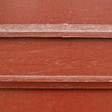 Painted wooden fence fragment Royalty Free Stock Photography