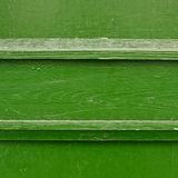 Painted wooden fence fragment Royalty Free Stock Photo