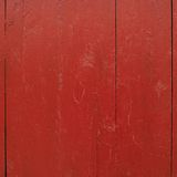 Painted wooden fence fragment Stock Photography