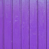 Painted wooden fence fragment Stock Images