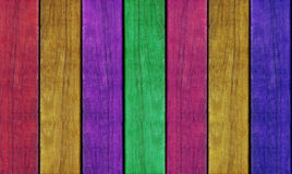 Painted wooden plank wall texture background Royalty Free Stock Images