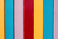 Painted Wooden Stripes Royalty Free Stock Photo