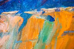 Painted wooden surface royalty free stock photos
