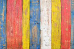 Painted woods boards Stock Image