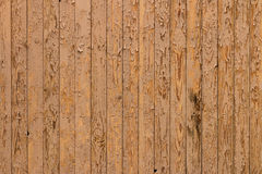 Painted yellow boards. background close up Royalty Free Stock Image