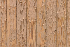 Painted yellow boards. background close up Royalty Free Stock Images
