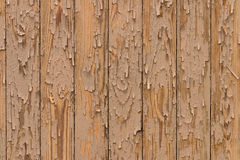 Painted yellow boards. background close up Stock Images