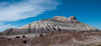 Paintedd berg Arkivfoto