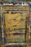 PainterÂ的委员会飞溅与颜色背景13 库存例证