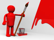 Painter Royalty Free Stock Image