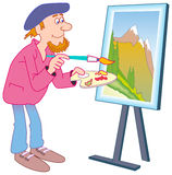 Painter Stock Images