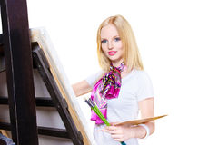Painter artist Stock Images