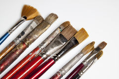 Painter brushes Royalty Free Stock Photos