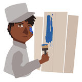 Painter  Royalty Free Stock Photo