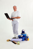 Painter-decorator Stock Photos