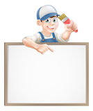 Painter decorator sign Stock Photos
