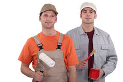 Painter and decorator Royalty Free Stock Image