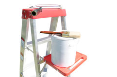Painter Equipment Stock Photography