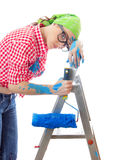 Painter female Stock Photography