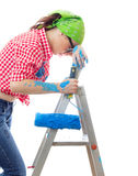 Painter female Stock Photos