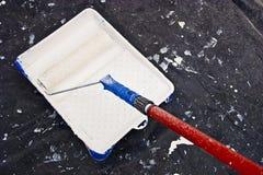 Painter labor Royalty Free Stock Photo