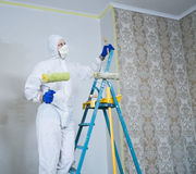 Painter man Stock Photos