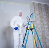 Painter man Royalty Free Stock Photo