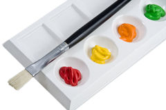 Painter palette Stock Images