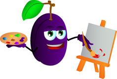 Painter plum Stock Photos