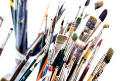 The Painter's Brushes 2 Stock Photos