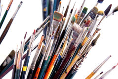 The Painter's Brushes 3 Royalty Free Stock Photography