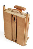 Painter's case with easel Royalty Free Stock Photo