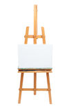 Painter's Easel. Isolated on white background Stock Photo