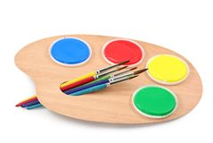 Painter's palette Stock Photos