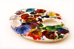 Painter's pallette (creative) stock photography