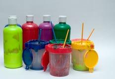 Painter's Set. Painter's paint set Stock Photography