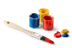 Painter set Stock Images
