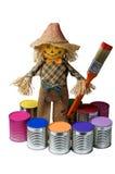 Painter.Toy boy. Stock Photo