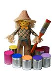 Painter.Toy jongen. Stock Foto