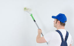 Painter in uniform Royalty Free Stock Photos