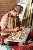 Painter at work Stock Photos