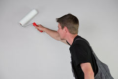 Painter at work Royalty Free Stock Photo