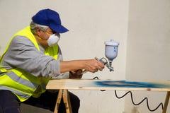 Painter royalty free stock photos