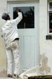 Painter working Stock Image
