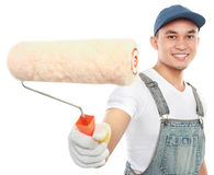 Painter working Royalty Free Stock Photo