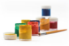 Painter workplace Royalty Free Stock Photography